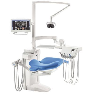 Planmeca Compact i Touch Multimedia - стоматологическая установка с сенсорной панелью и сухой аспирацией | Planmeca (Финляндия)