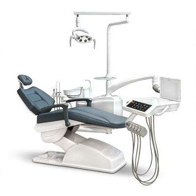 AY-A 3600 - стоматологическая установка с нижней подачей инструментов и сенсорной панелью | Anya (Китай)