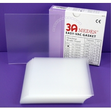 EV Gasket Bleaching 040 - пластины для изготовления капп для отбеливания, квадратные (127x127x1,0 мм), 25 шт.