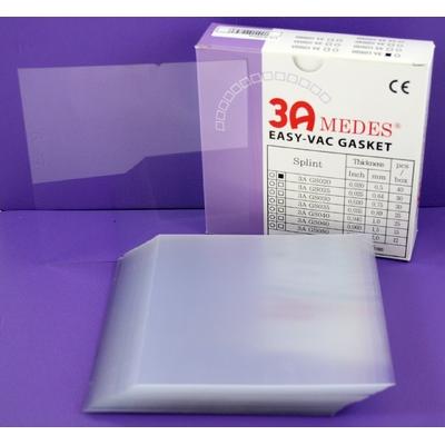 EV Gasket Splint 020 - пластины для изготовления ортодонтических шин, квадратные, (127x127x0,5 мм), 40 шт. | 3A MEDES (Ю. Корея)