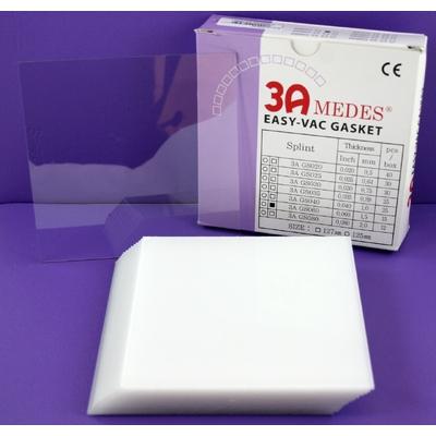EV Gasket Splint 060 - пластины для изготовления ортодонтических шин, квадратные (127x127x1,5 мм), 15 шт. | 3A MEDES (Ю. Корея)