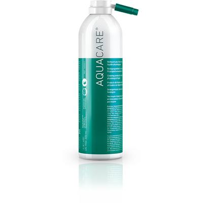 Aquacare - аэрозоль для очистки прямых и уголовых наконечников и микромоторов, используемых с физиологическим раствором, 500 мл | Bien-Air (Швейцария)