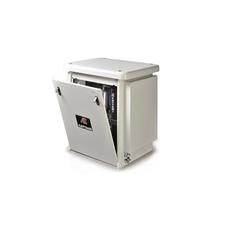 Cattani 45-165 - безмасляный стоматологический компрессор для CAD/CAM, трехцилиндровый, в кожухе, c осушителем, с ресивером 45 л, 165 л/мин