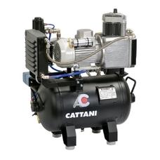 Cattani 30-67 - безмасляный компрессор для одной стоматологической установки, без осушителя, с ресивером 30 л, 67,5 л/мин
