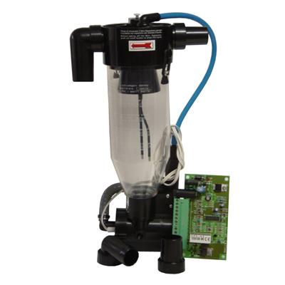 Mini-Separator - сепаратор для монтажа в установку, соединение 90 или 180 градусов | Cattani (Италия)