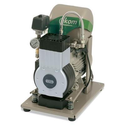 EKOM DK50 B (BS) - безмасляный компрессор для одной стоматологической установки с ресивером 4 л (50 л/мин) | EKOM (Словакия)