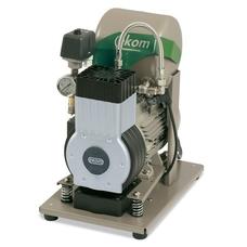 EKOM DK50 Z (S) - безмасляный компрессор для одной стоматологической установки с ресивером 5 л (75 л/мин)
