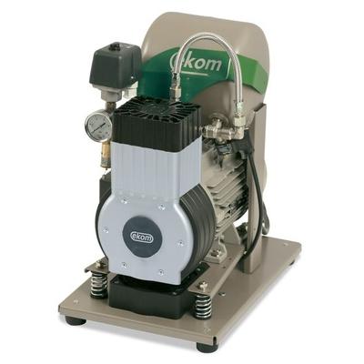 EKOM DK50 Z (S) - безмасляный компрессор для одной стоматологической установки с ресивером 5 л (75 л/мин) | EKOM (Словакия)
