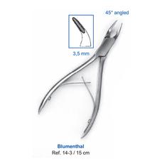 Кусачки костные Blumenthal, 15 см, 3,5 мм, 45° угол рабочей части