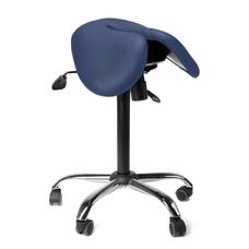 Gravitonus EZDuo - эргономичный стул-седло, двуразделенное седло