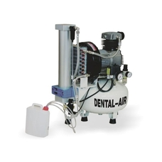 Dental Air 2/24/57 - безмасляный воздушный компрессор на 2 установки, с осушителем, без кожуха, 150 л/мин