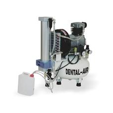Dental Air 3/24/57 - безмасляный воздушный компрессор на 3 установки, с осушителем, без кожуха, 200 л/мин