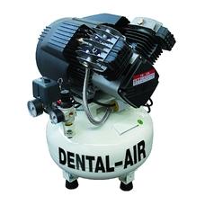 Dental Air 3/24/5 - безмасляный воздушный компрессор на 3 установки, без кожуха, 200 л/мин
