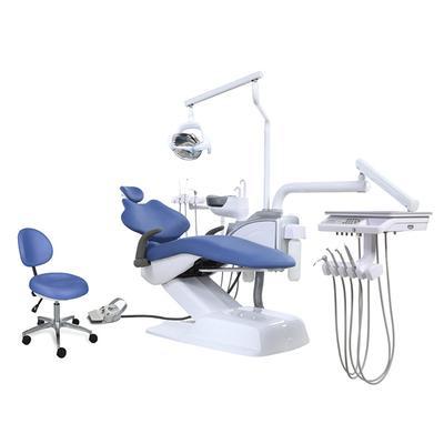 AJ 15 - стоматологическая установка с нижней/верхней подачей инструментов   Ajax (Китай)
