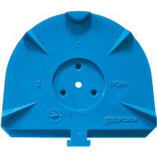 Classic L - цокольные пластины для Giroform, синие, 100 шт
