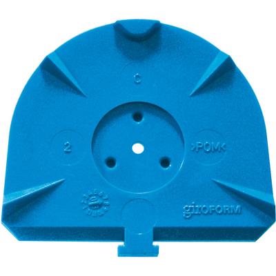 Classic L - цокольные пластины для Giroform, синие, 100 шт | Amann Girrbach AG (Австрия)