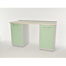 AR-L01 - стол, металл в полимере, 4 полки