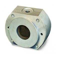 КЮВЕТА 1.0 МИДЛ - кювета для аппаратов ТЕРМОПРЕСС, диаметр рабочей части 80 мм