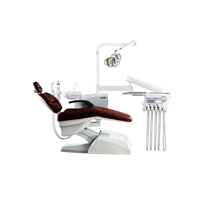 Azimut 500A MO - стоматологическая установка с нижней подачей инструментов, мягкой обивкой кресла и двумя стульями | Azimut (Китай)