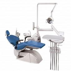 Azimut 600A MO - стоматологическая установка с нижней подачей инструментов, с двумя стульями