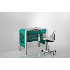 COJMP.1 - стол зубного техника на одно рабочее место