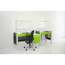 COJMP.12 - стол зубного техника на два рабочих места