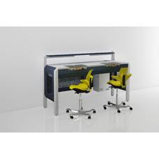 COJMP.7 - стол зубного техника на два рабочих места