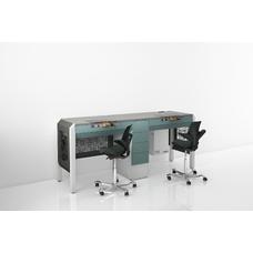 COJMP.9 - стол зубного техника на два рабочих места