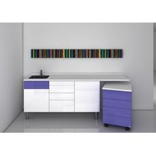 Jakarta  - комплект мебели для хранения стоматологических инструментов, с выдвижными ящиками