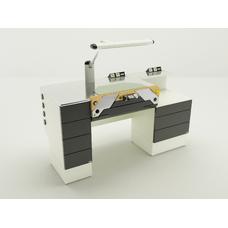 Miocer - стол зубного техника на одно рабочее место