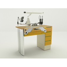 Miofull - стол зубного техника на одно рабочее место
