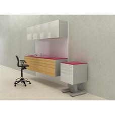 Mosca  - комплект мебели для хранения стоматологических инструментов, с выдвижными ящиками