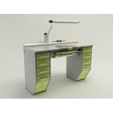OPERATIVE 03 - стол зубного техника на одно рабочее место