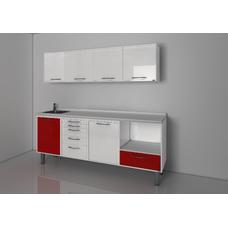 STERIL CENTER 1 - комплект мебели для стерилизации и хранения стоматологических инструментов, с выдвижными ящиками