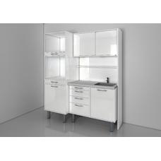 STERIL CENTER 2 - комплект мебели для стерилизации и хранения стоматологических инструментов, с выдвижными ящиками