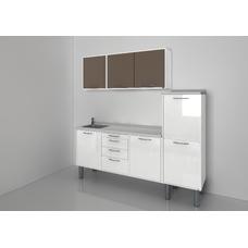 STERIL CENTER 3 - комплект мебели для стерилизации и хранения стоматологических инструментов, с выдвижными ящиками