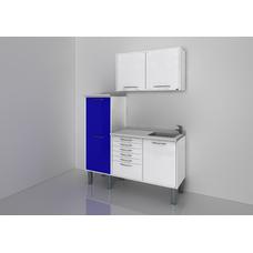 STERIL CENTER 4 - комплект мебели для стерилизации и хранения стоматологических инструментов, с выдвижными ящиками