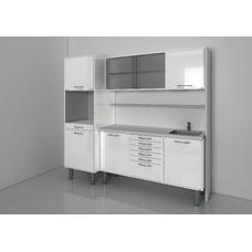 STERIL CENTER 5 - комплект мебели для стерилизации и хранения стоматологических инструментов, с выдвижными ящиками