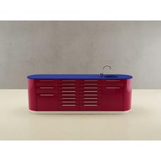 Valdobbiadene  - комплект мебели для хранения стоматологических инструментов, с выдвижными ящиками
