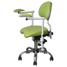 Scope-2D - стул врача-стоматолога с подлокотниками для работы с микроскопом