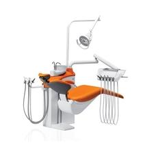 Diplomat Adept DA130 Special Edition - стоматологическая установка с нижней подачей инструментов, с креслом DM20