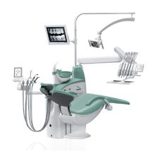 Diplomat Adept DA270 - стационарная стоматологическая установка с верхней подачей инструментов