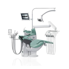 Diplomat Adept DA280 Special Edition - стоматологическая установка нижней подачей инструментов, с креслом DM20
