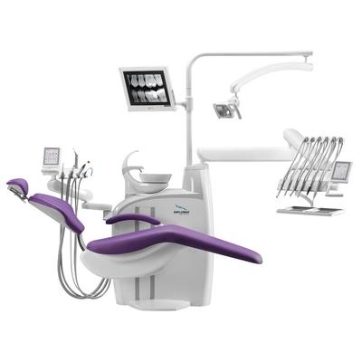 Diplomat Adept DA370 - стационарная стоматологическая установка с верхней подачей инструментов | Diplomat Dental (Словакия)