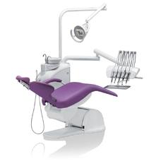 Diplomat Consul DC170 Special Edition - стоматологическая установка навесного типа с верхней подачей инструментов, с креслом DE20