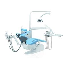 Diplomat Lux DL210 Special Edition - стоматологическая установка навесного типа с нижней подачей инструментов, с креслом DE20