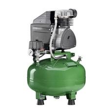 KD 124 - безмасляный компрессор для одной стоматологической установки, без осушителя, без кожуха, с ресивером 24 л (60 л/мин)