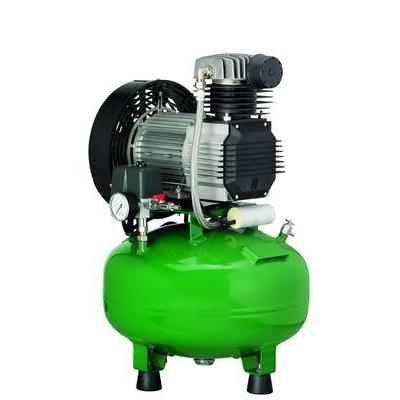 KD 224 B - безмасляный компрессор для 2-х стоматологических установок, без осушителя, с кожухом, с ресивером 24 л (100 л/мин) | Diplomat Dental (Словакия)