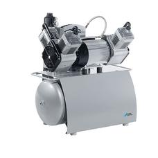Trio - трехцилиндровый безмасляный компрессор, c мембранным осушителем, с ресивером 50 л, 160 л/мин