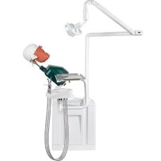 JG-A2 - стоматологический фантом пациента мобильный, электрический